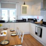 Modern kitchen in 2 The Elms, St Ives