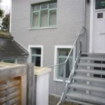 External Steps of 2 The Elms, St Ives