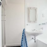 Master bathroom of The Loft St Ives with separate bath
