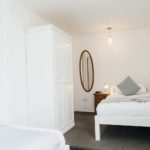 Twin bedroom at The Loft, St Ives