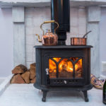 Log burner in Ponckles Place
