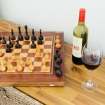 Chess and wine