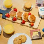 Cream tea by Ocean Holidays Cornwall