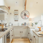 Fully fitted kitchen at Lower Trowan Cottage