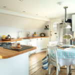 Kitchen in Ponckle's Place in St Ives