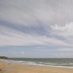 Praa Sands Beach on a sunny day