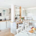 Open plan living area of 10 Fernlea Terrace in St Ives
