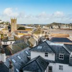 View from 10 Fernlea over St Ives harbour