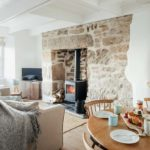 17 Farmers Meadow Living Room with Log Burner