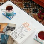 Coffee and a book, perfect! Details in 6 Barnaloft