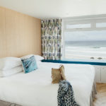 6 Barnaloft Master Bedroom Sea Views over Porthmeor Beach