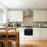 Kitchen and dining area in Lowenna, Penzance