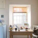 Kitchen dining table at Jamaica Terrace in Mousehole