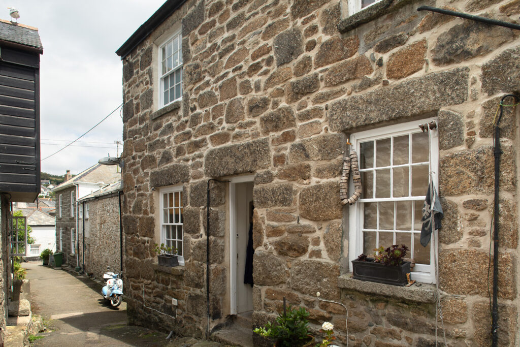 Exterior of Jamaica Terrace Cottage in Mousehole