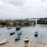 Mousehole fishing village harbour
