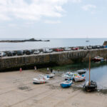 Mousehole harbour and St Clements Isle