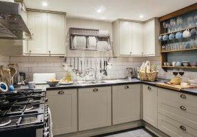 Saltwater's stylish kitchen